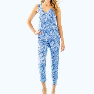 Lilly Pulitzer Paulina Jumpsuit NWT Size XL